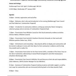 Marlborough-community-resilience-eveningAgenda290120