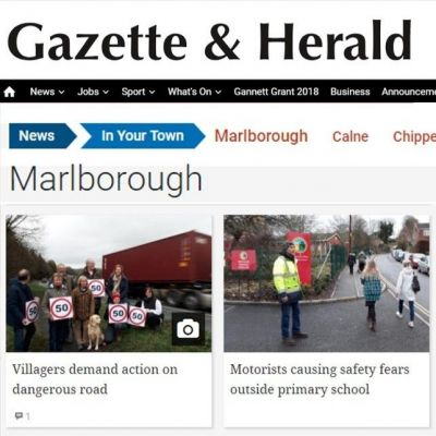 a link to the Marlborough Gazette & Herald website