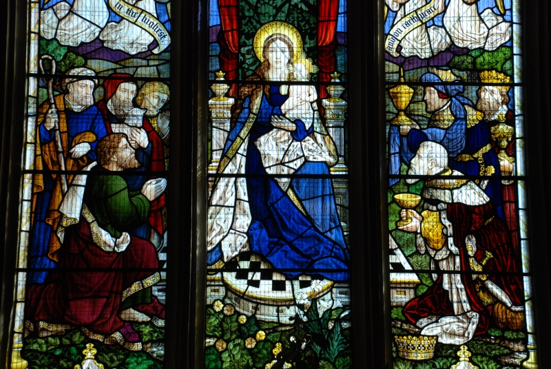 Nativity - window in St Mary's