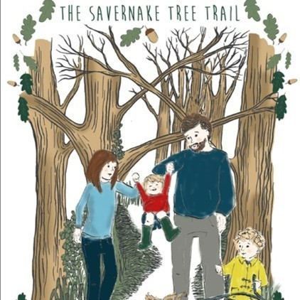 savernake walk leaflet cover