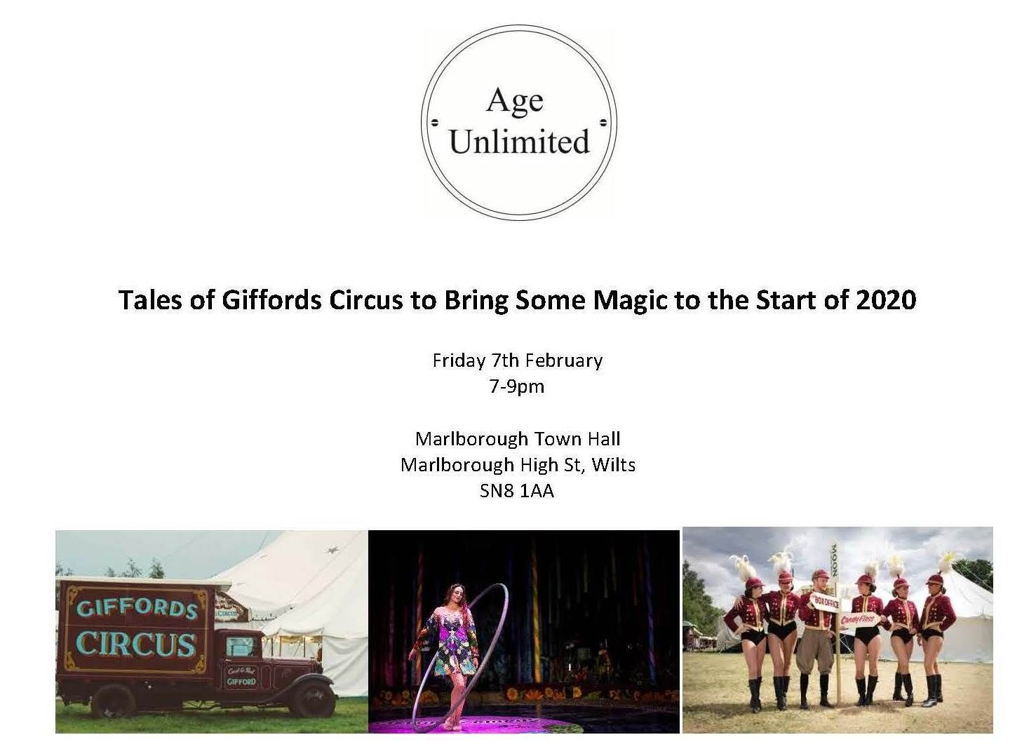7 February - Tales from Giffords Circus