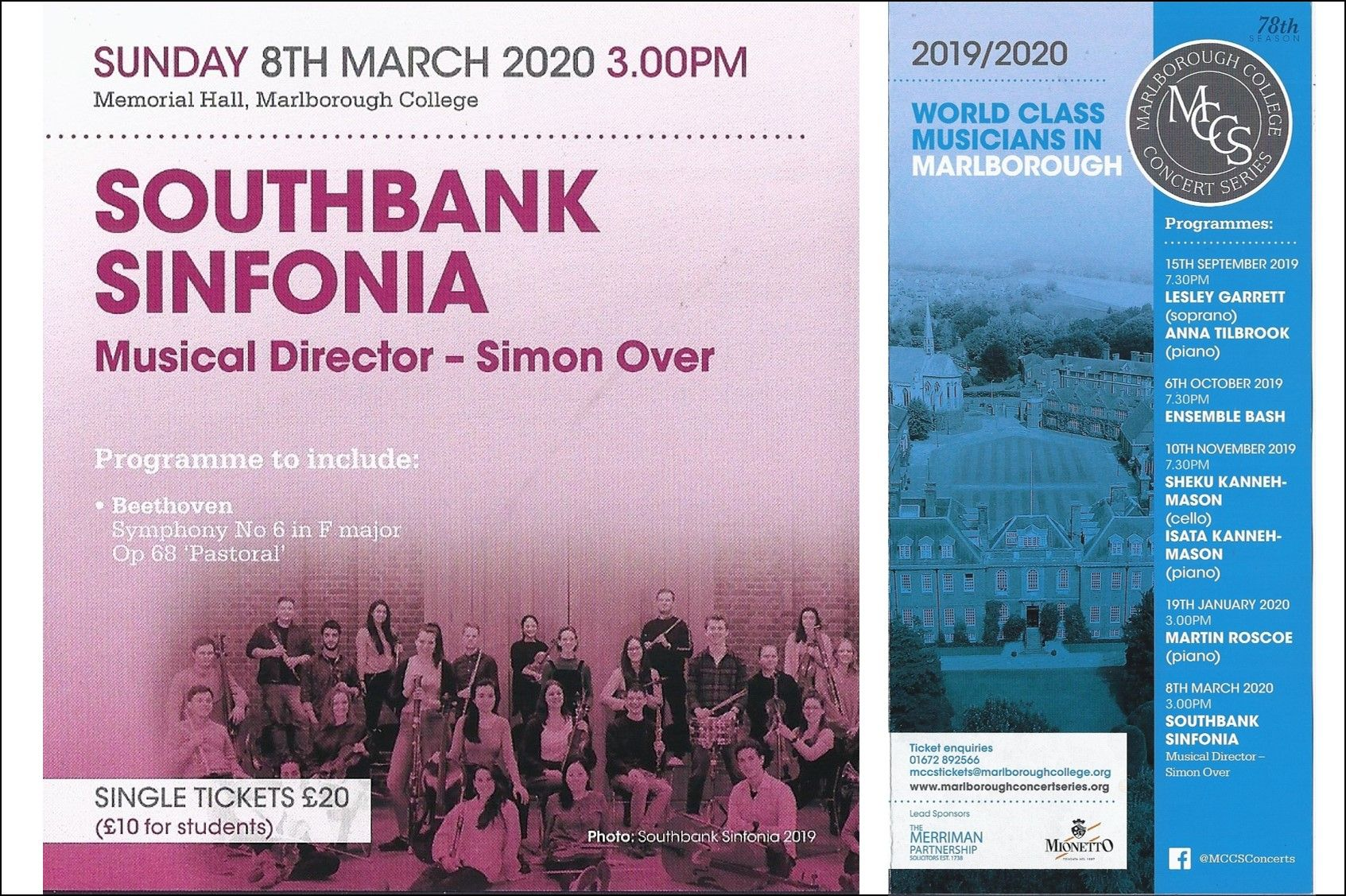 8 March - Southbank Sinfonia