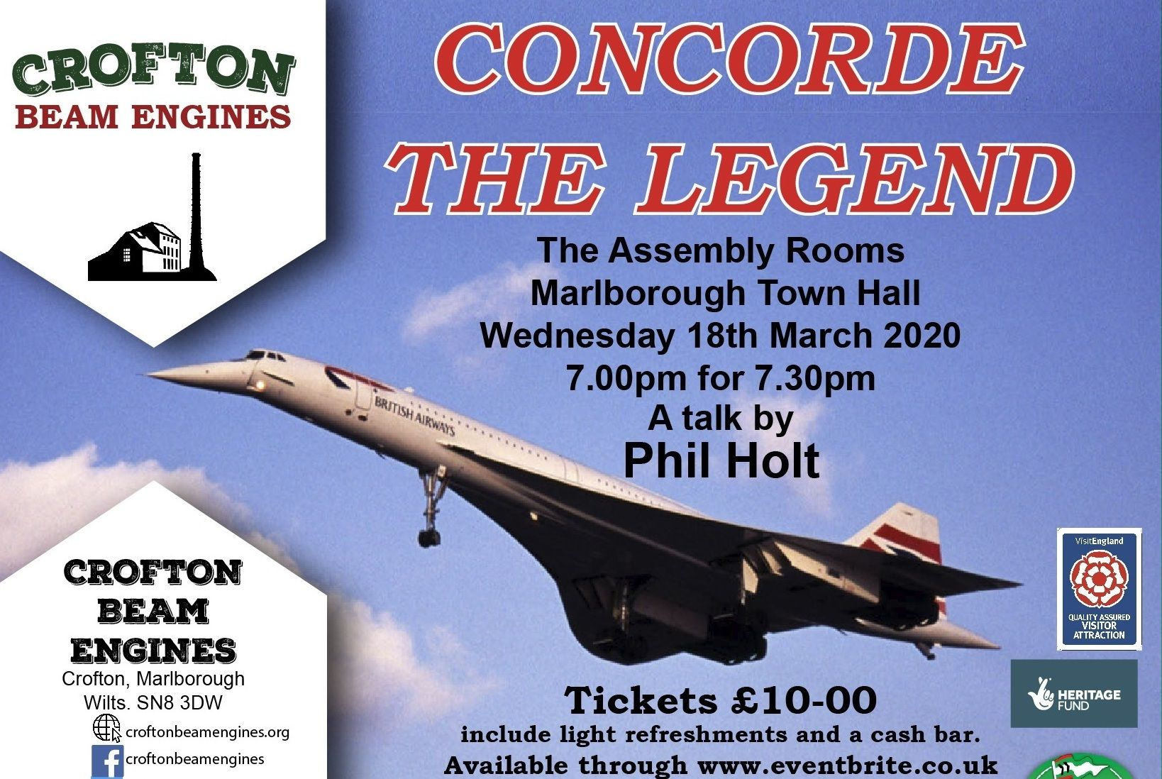 18 March - Concorde The Legend